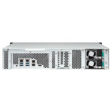 Smb qnap ts-1253bu-rp-4g nas 12 hdd trays, rackmount, 2 psu. 4-core intel celeron j3455 1,5 ghz (up to 2,3 ghz).. w/o rail kit rail-b02