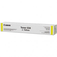 Тонер canon 034 9451b001 желтый туба для копира ir c1225if