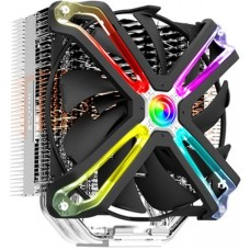 Zalman cnps17x, 140mm rgb fan, 5 heat pipes, 4-pin pwm, 800-1500 rpm, 29dba, fdb bearing, full socket support
