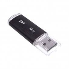 Silicon power usb drive 32gb ultima-ii sp032gbuf2u02v1k {usb2.0, black}