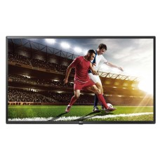 "Lg 43ut640s led tv 43"", 4k uhd, 300 cd/m2, commercial smart signage, 16/7, web os, group manager, 120hz, 'ceramic black"