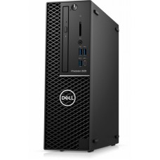 Dell precision t3431 sff i5-9500 (4.40ghz turbo) 6c 9m, 8gb (1*8gb) 2666mhz ddr4 udimm non-ecc, dvd+/–rw,  m.2 256gb pcie nvme class 40 ssd, integrated intel sata controller, uhd 620 2gb 4mdp to dp adapter, audio, qwerty keyboard, optical mouse, win10 pro