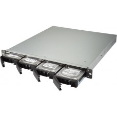 Smb qnap ts-453bu-rp-4g nas 4 hdd trays, rackmount, 2 psu. 4-core intel celeron j3455 1,5 ghz (up to 2,3 ghz), 4 gb. w/o rail kit rail-b02