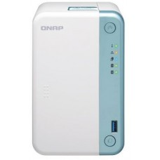 Smb qnap ts-251d-2g nas, 2-tray w/o hdd. intel celeron dual-core j4005  2.0-2.7ghz, 1*2gb up to 8gb (2*4gb), hdmi-port, 1xgb lan