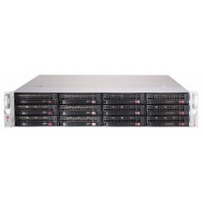 "2u, storage jbod chassis with capacity 12 x 3.5"" hot-swappable hdds bays, dual expander backplane boards support sas3/2 or sata3 hdds with 12gb/s throughput, 8 x mini-sas hd ports for internal / external cascading expander combination for high performance"