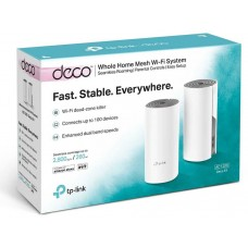 Ac1200 whole-home mesh wi-fi system, qualcomm cpu, 867mbps at 5ghz+300mbps at 2.4ghz, 2 10/100mbps ports, 2  internal antennas, mu-mimo