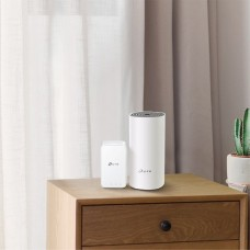 Ac1200 whole-home mesh wi-fi system, 867mbps at 5ghz+300mbps at 2.4ghz, 2 10/100mbps ports, 2 internal antennas, mu-mimo