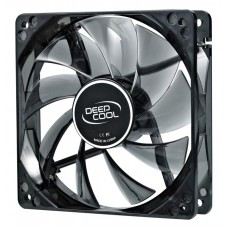 Вентилятор deepcool wind blade 120 120x120x25mm 3-pin 4-pin (molex)26db led ret