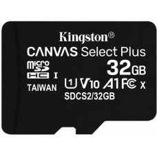 Micro securedigital 32gb kingston sdcs2/32gbsp {microsdhc class 10 uhs-i}