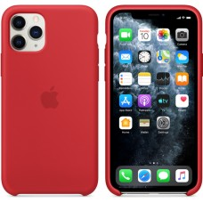 Mwyh2zm/a apple iphone 11 pro silicone case - (product)red