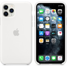 Mwyl2zm/a apple iphone 11 pro silicone case - white