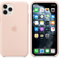 Mwym2zm/a apple iphone 11 pro silicone case - pink sand