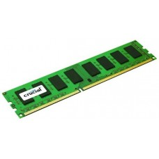 Crucial 8gb ddr3l 1600 mt/s (pc3-12800) cl11 dr x8 unbuffered ecc udimm 240pin 1.35v