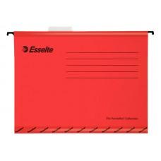 Папка подвесная esselte standart 90316 картон красный (упак.:25шт)