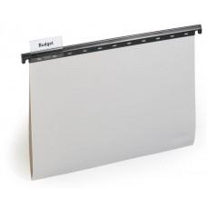 Папка подвесная durable 2563-10 a4 пластик серый