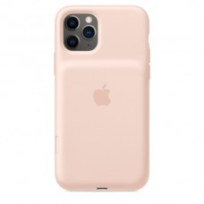 Mwvn2zm/a apple iphone 11 pro smart battery case with wireless charging - pink sand