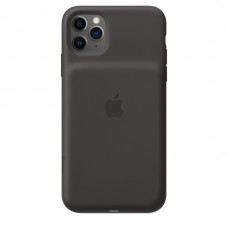 Iphone 11 pro max smart battery case with wireless charging - black