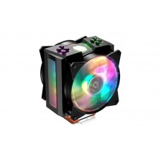 Cooler master cpu cooler masterair ma410m, 600-1800 rpm, 150w, addressable rgb, lighting controller, full socket support
