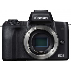 "Фотоаппарат canon eos m50 черный 24.1mpix 3"" 4k wifi 15-45 is stm lp-e12 (с объективом)"