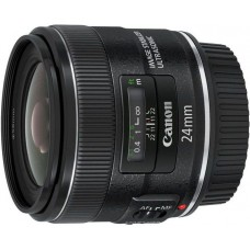 Объектив canon ef is usm (5345b005) 24мм f/2.8 черный