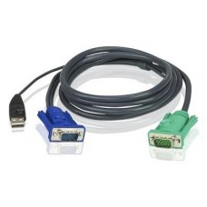Cable hd15m/usb a(m)--sphd15m 3m