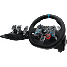Контроллер игровой logitech g29 driving force racing wheel для playstation®4, playstation®3 и pc