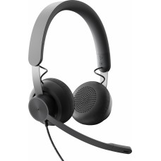 Logitech headset zone wired  teams graphite