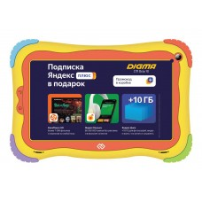 "Планшет digma optima kids 7 rk3126c (1.2) 4c/ram1gb/rom16gb 7"" ips 1024x600/android 8.1/разноцветный/2mpix/0.3mpix/bt/wifi/touch/microsd 128gb/minusb/2500mah"