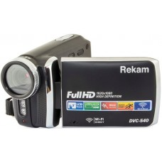 "Видеокамера rekam dvc-540 черный is el 3"" 1080p sd+mmc flash/flash"