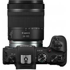 "Фотоаппарат canon eos rp черный 3"" 4k wifi rf 24-105mm f4-7.1 is stm lp-e17 (с объективом)"