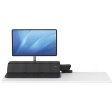 Подставка fellowes lotus rt sit-stand workstation черный
