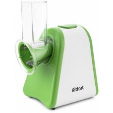 Измельчитель электрический kitfort кт-1385 200вт белый/зеленый