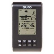 Погодная станция buro h103g серебристый/черный