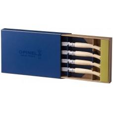 Набор ножей кухон. opinel table chic №10 (001828) компл.:4шт дерево подар.коробка