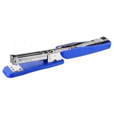 Степлер silwerhof 401075-02 24/6 26/6 (30листов) синий