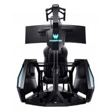 Кресло игровое acer predator thronos air pgc 900 черный сиденье черный с подголов. пластик черный