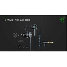 Razer hammerhead duo - wired in-ear headphones - frml packaging