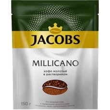 Кофе растворимый jacobs monarch millicano 150г. (8050064)