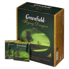 Чай greenfield flying dragon зеленый 100пак. карт/уп. (0585-09)