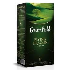 Чай greenfield flying dragon зеленый 25пак. карт/уп. (0358-10)