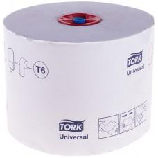 Бумага туалетная tork профессиональная universal 1-нослойная 135м белый (уп.:27рул) (127540)