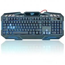 Defender проводная игровая клавиатура doom keeper gk-100dl ru,3-х цветная,19 anti-ghost