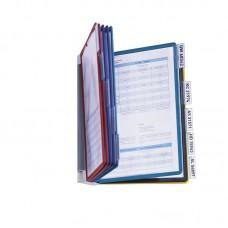 Дисплейная система durable sherpa vario 5567-00 настенная модуль/10 панелей