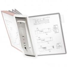 Дисплейная система durable sherpa 5621-10 настенная 10пан. без панелей