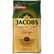"""Кофе в зернах jacobs """"crema"""", вакуумный пакет, 1кг"""