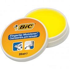 """Гель для увлажнения пальцев bic (франция) """"fingertip"""", 20 г, без запаха, 897178"""
