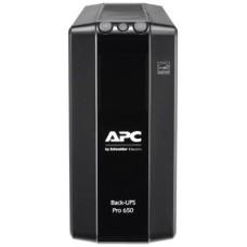 Apc back-ups pro br 650va/390w, 6xc13 outlets(6 batt.), avr, lcd, data/dsl protect, 10/100 base-t, usb, pch, user repl. batt., 2 y warr.