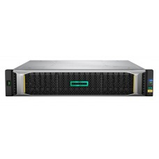 Hpe msa 2050 sff 24 disk enclosure (used with lff or sff array head, w/ 2x0.5m minisas cables) analog q1j07a