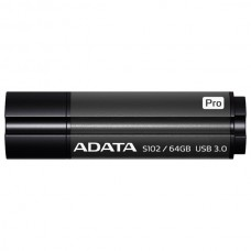 A-data flash drive 64gb s102p as102p-64g-rgy {usb3.0, grey}