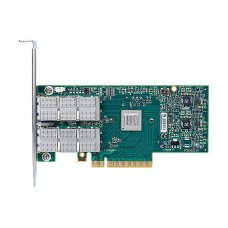Mcx354a-fcbt connectx®-3 vpi adapter card, dual-port qsfp, fdr ib (56gb/s) and 40/56gbe, pcie3.0 x8 8gt/s, tall bracket, rohs r6